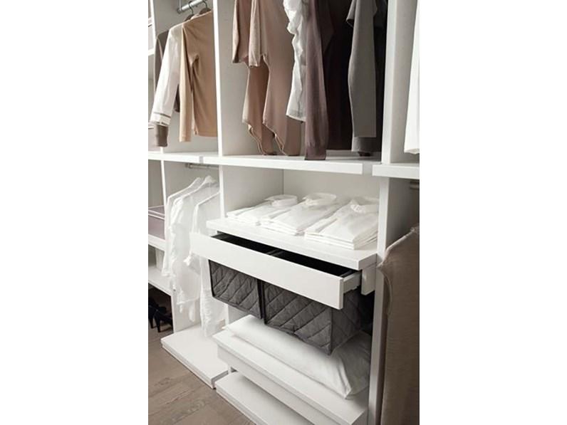 Cabina armadio della zg mobili moderno in laminato materico for Piani economici della cabina di ceppo