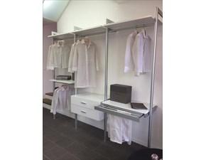 Cabina armadio in laminato opaco bianco modello Screen di  Albed scontato 40%