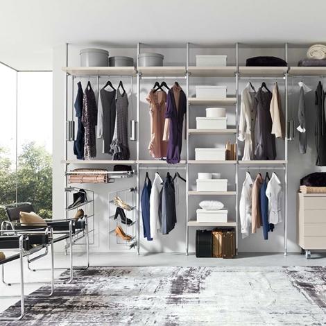 Cabina armadio moderna in laminato della zg mobili for Design della cabina a prezzi accessibili