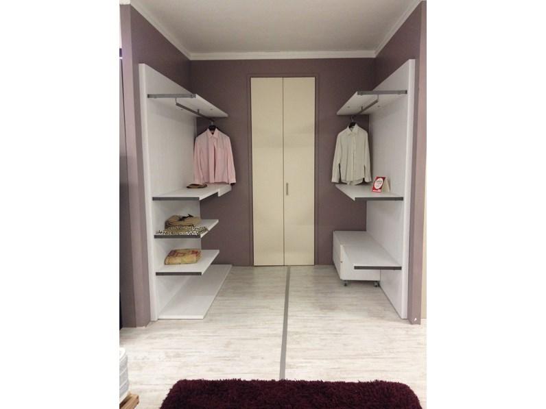 Porta Pantaloni Cabina Armadio : Cabina armadio santa lucia laminato materico