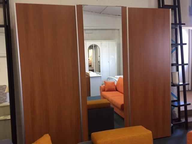 Giaguar mobili armadio armadio scorrevole moderno laminato - Profondita armadio scorrevole ...