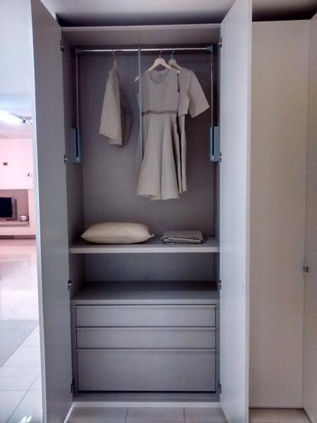 Lema armadio al centimetro laccato opaco armadi a prezzi - Armadio con cassettiera interna ...