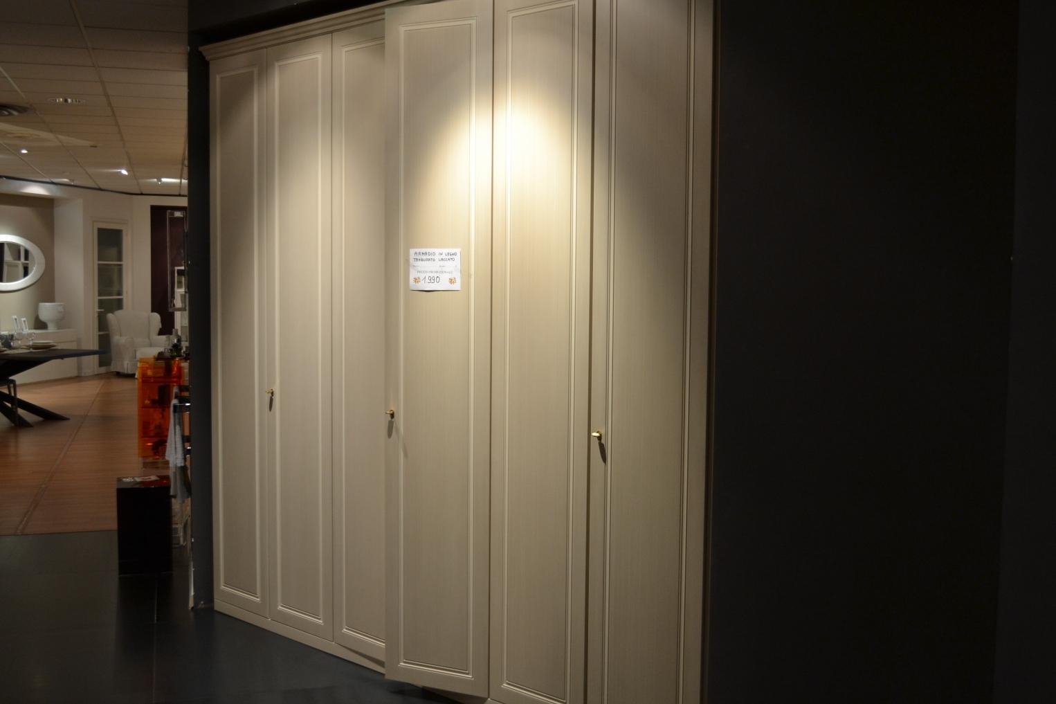Mobilac armadio 6 ante classico laccato opaco ante - Portacravatte per armadi ...