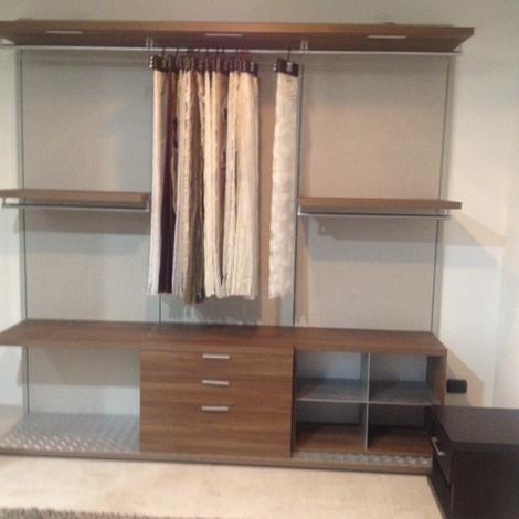 Mobilform armadio cabina armadio moderno laminato materico for Cabina a 2 piani