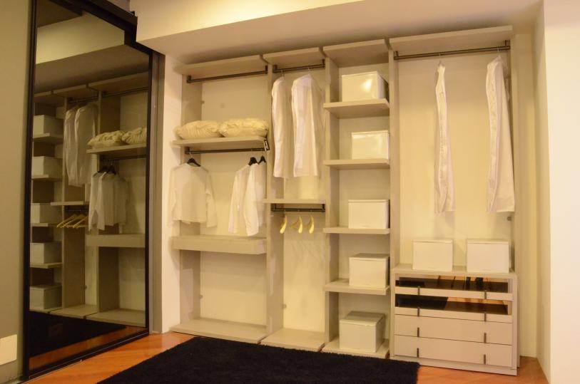 Misuraemme armadio cabina millimetrica laminato materico - Porte cabina armadio prezzi ...