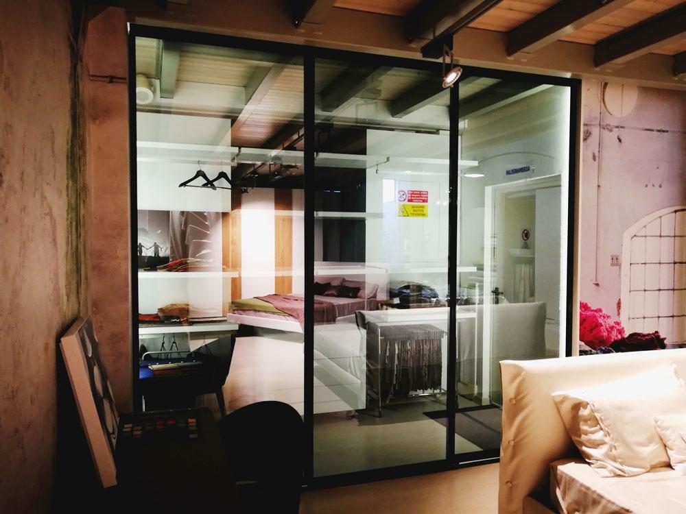 Porte scorrevoli round zemma per cabina armadio armadi - Porte per cabine armadio ...