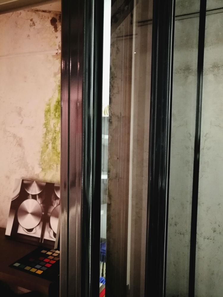 Porte scorrevoli round zemma per cabina armadio armadi - Porte scorrevoli per cabina armadio ...