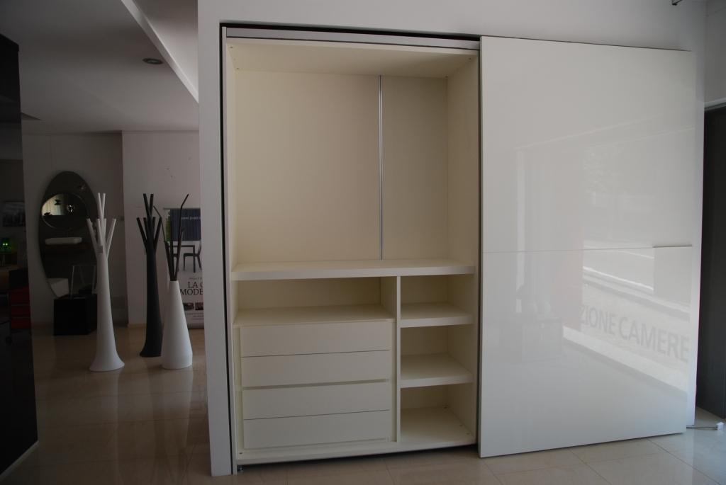 Pianca armadio orizzonte design laccato lucido complanare for Armadi design outlet