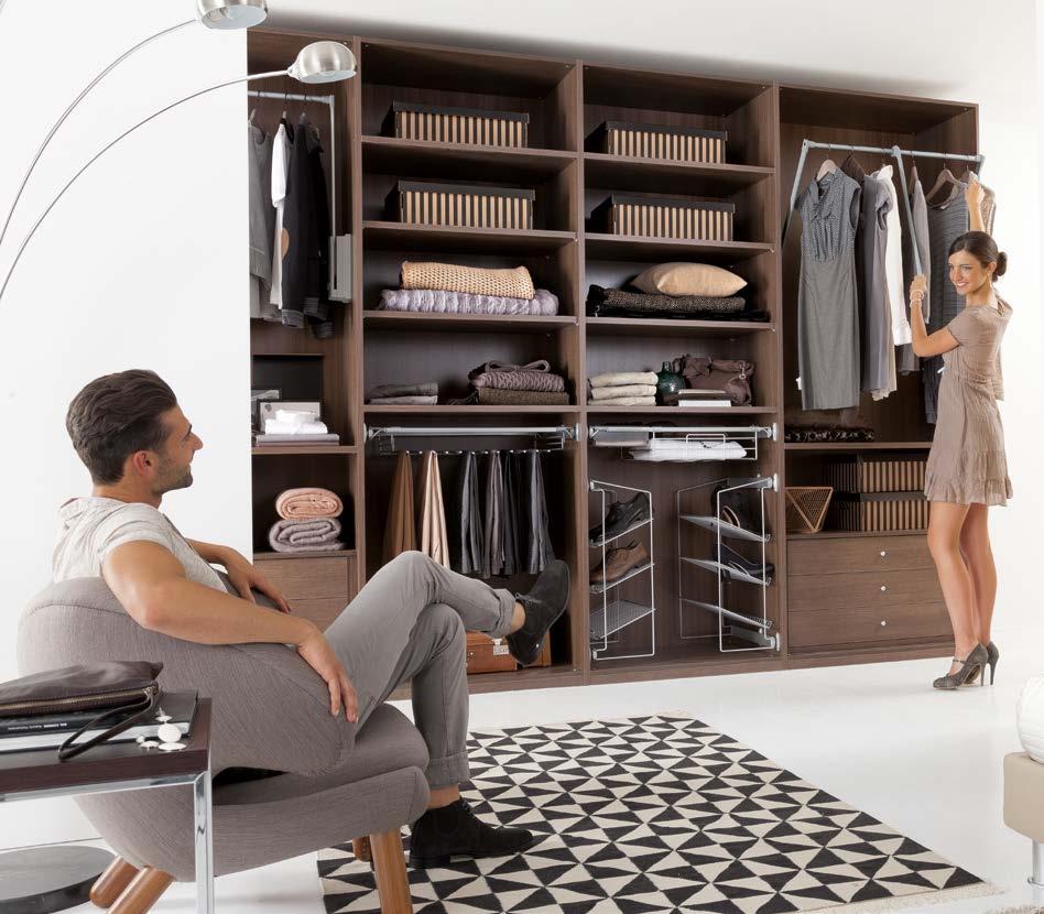 Zg mobili armadio cabina amrmadio a spalla moderno laminato ...