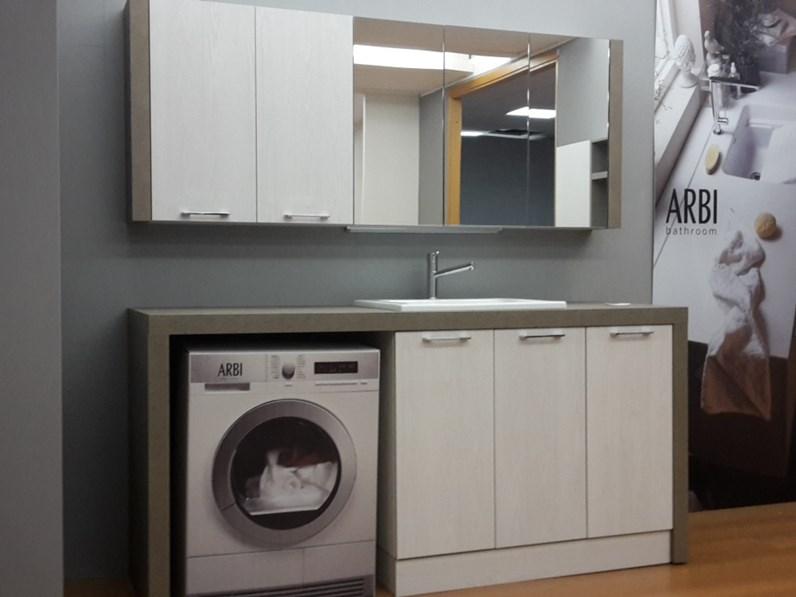 Mobile lavanderia arbi bolle laminato - Allestimento bagno ...