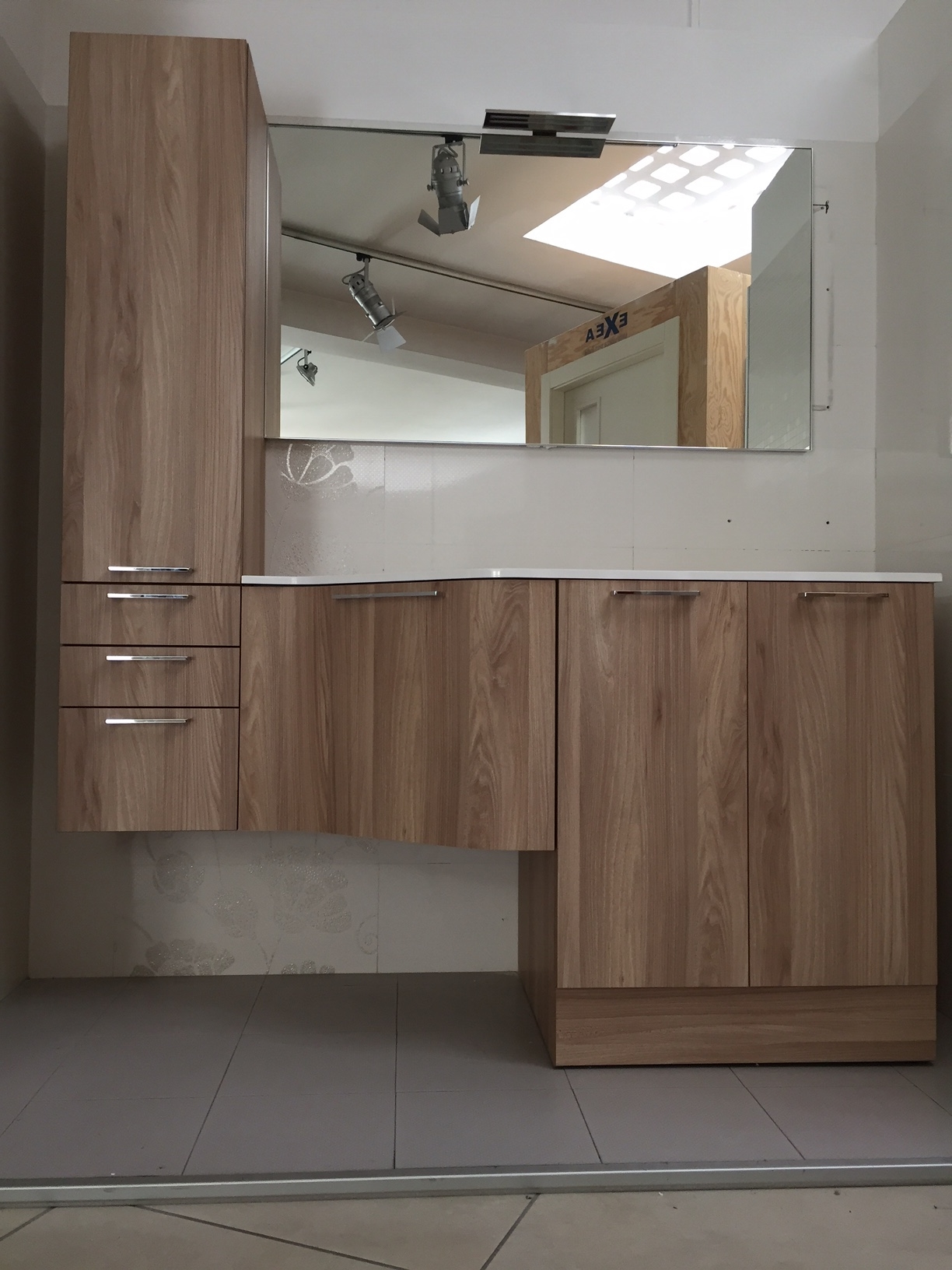 Mobile bagno lavanderia arbi a prezzi scontati arredo for Vendita arredo bagno