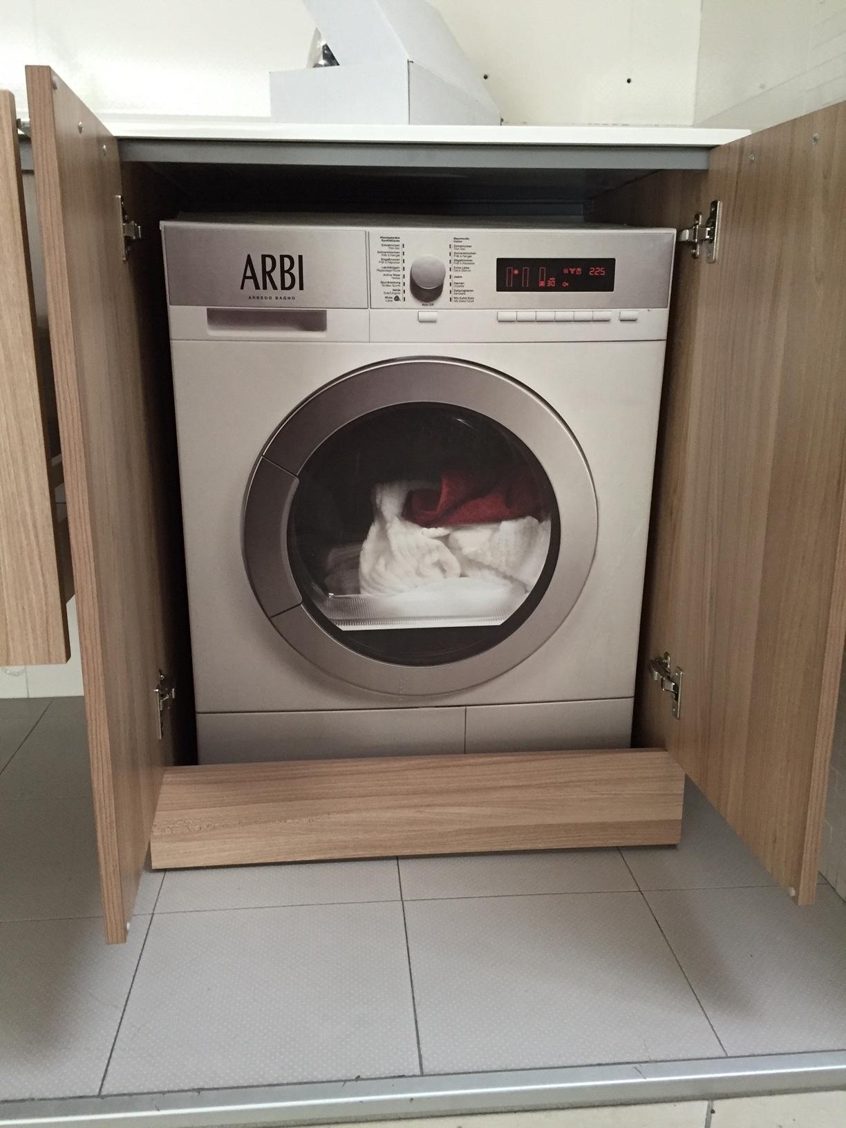 Mobile bagno lavanderia arbi a prezzi scontati arredo - Bagno di servizio con lavanderia ...