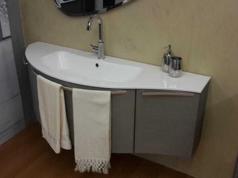 mobile bagno Arbi Sky rovere argilla Moderno - Arredo bagno a ...