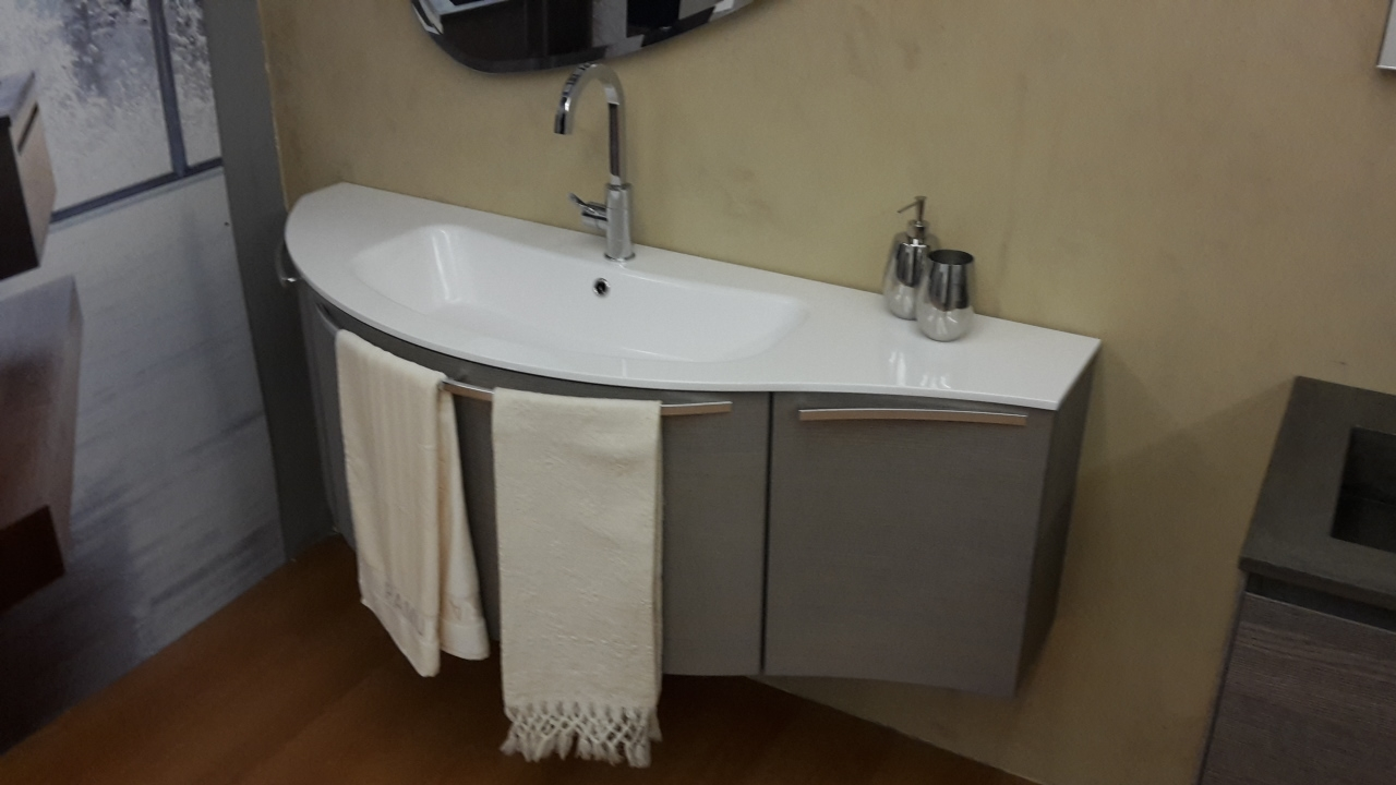 mobile bagno arbi sky rovere argilla moderno - arredo bagno a ... - Arbi Arredo Bagno Prezzi