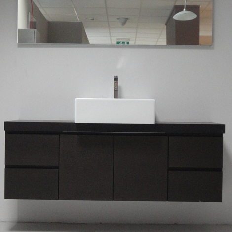 Arcom goya moderno legno sospeso arredo bagno a prezzi for Arredo bagno moderno sospeso
