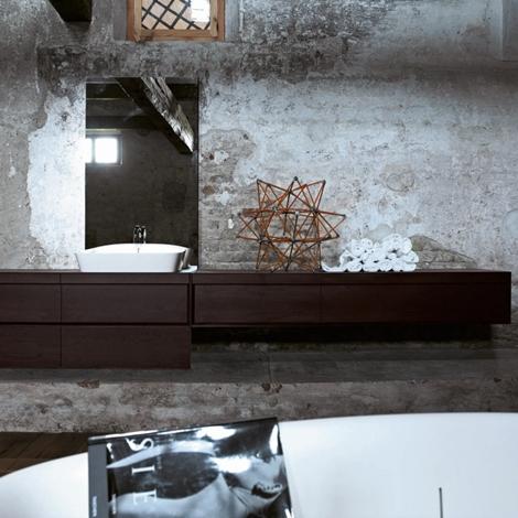 arlex class design legno sospeso - arredo bagno a prezzi scontati - Arlex Arredo Bagno