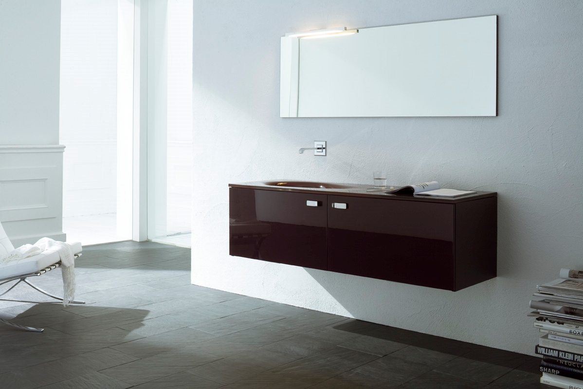 arlex on-line moderno laccato lucido sospeso - arredo bagno a ... - Arlex Arredo Bagno