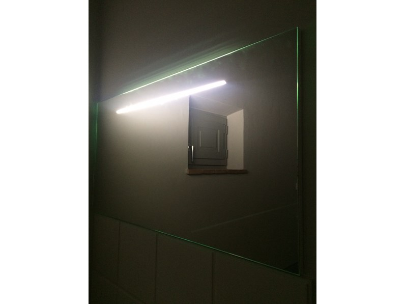 Arlex specchio 150x70luci led for Luci arredo