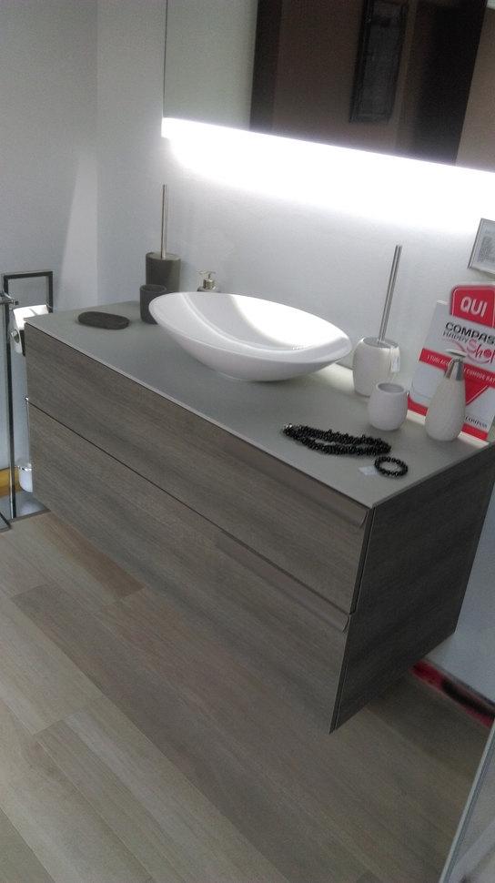 Cerasa mobile bagno play con catino ad appoggio arredo - Mobile bagno da appoggio ...