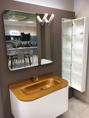 Cerasa moderno laccato lucido arredo bagno a prezzi scontati for Arredo bagno desio