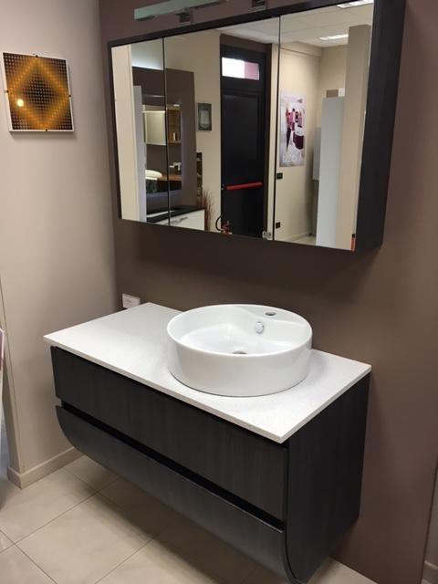 Mobile bagno cerasa moderno moderno laminato arredo bagno a prezzi scontati - Laminato in bagno ...