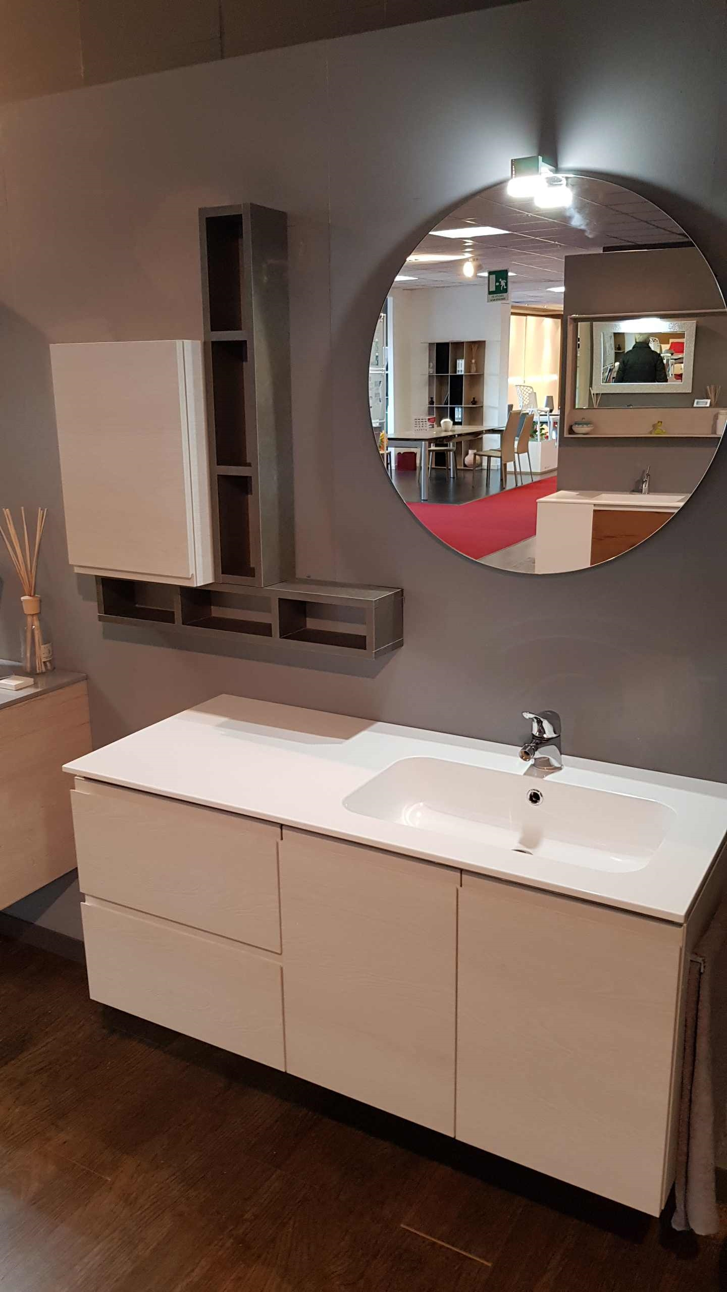 Outlet bagno compab in offerta con luce a led arredo for Arredo bagno offerta