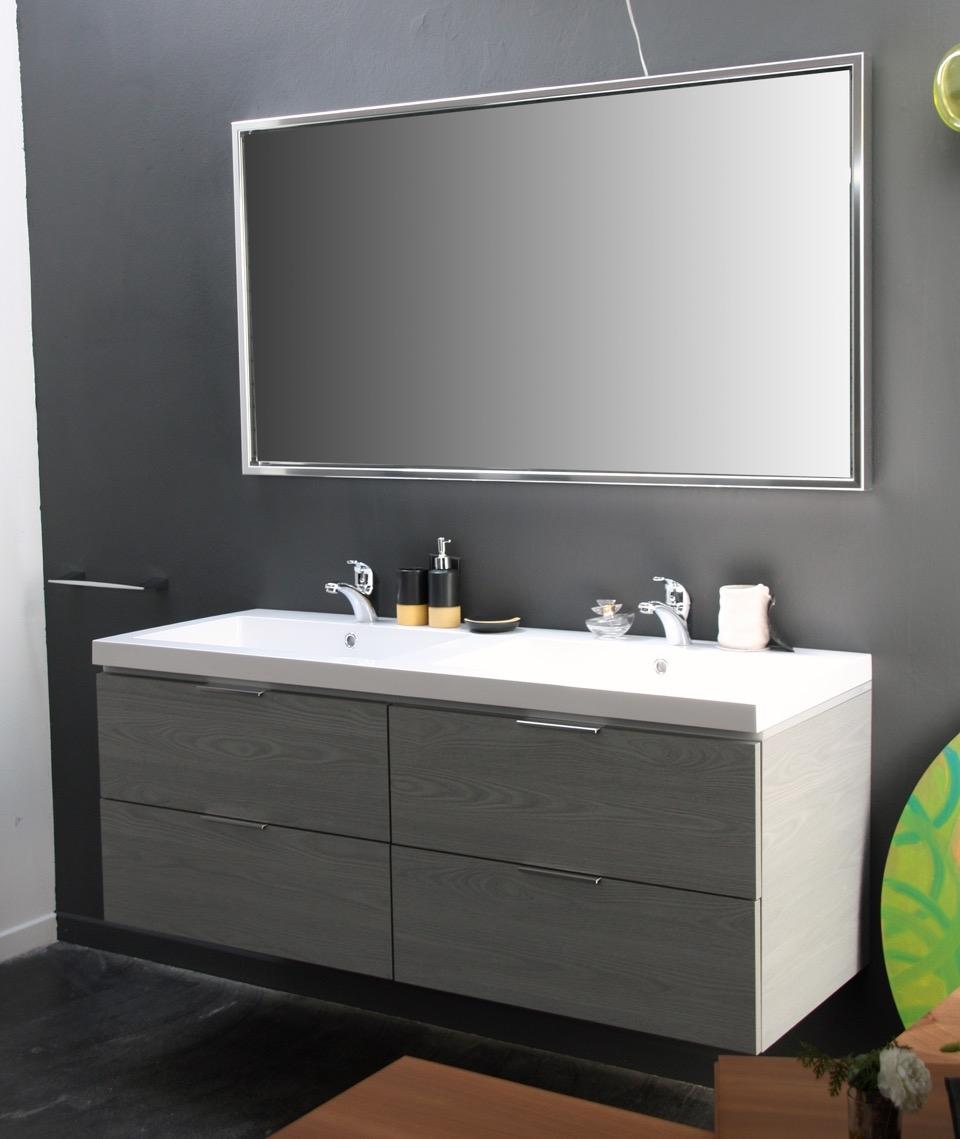 Compab bagno mod new york moderno laminato sospeso for Arredo bagno moderno sospeso