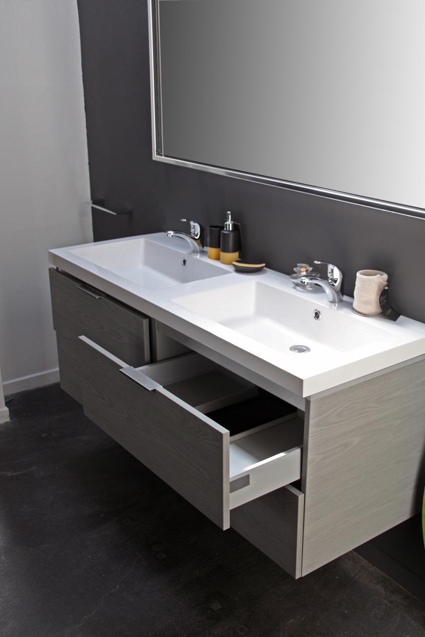 Compab bagno mod new york moderno laminato sospeso - Laminato per bagno ...