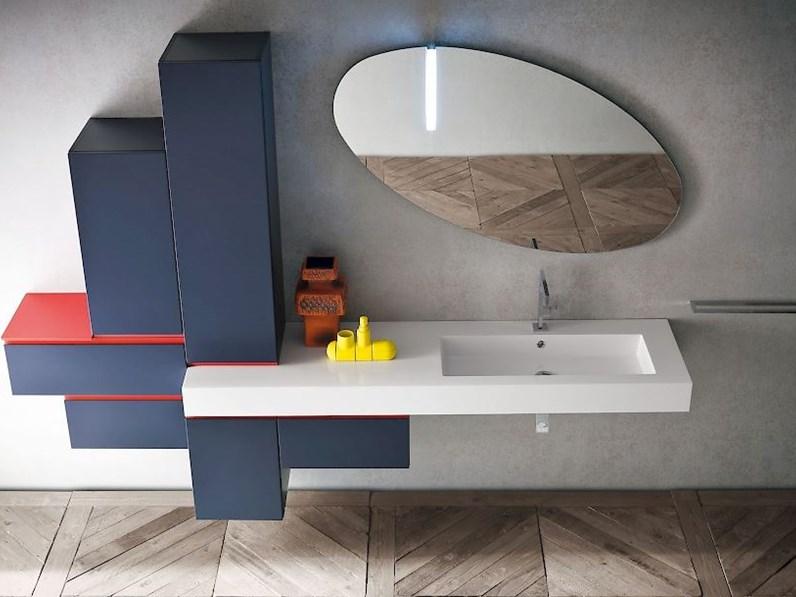 Jeans Vasca Da Bagno : Mobile per bagno laccato opaco colore jeans