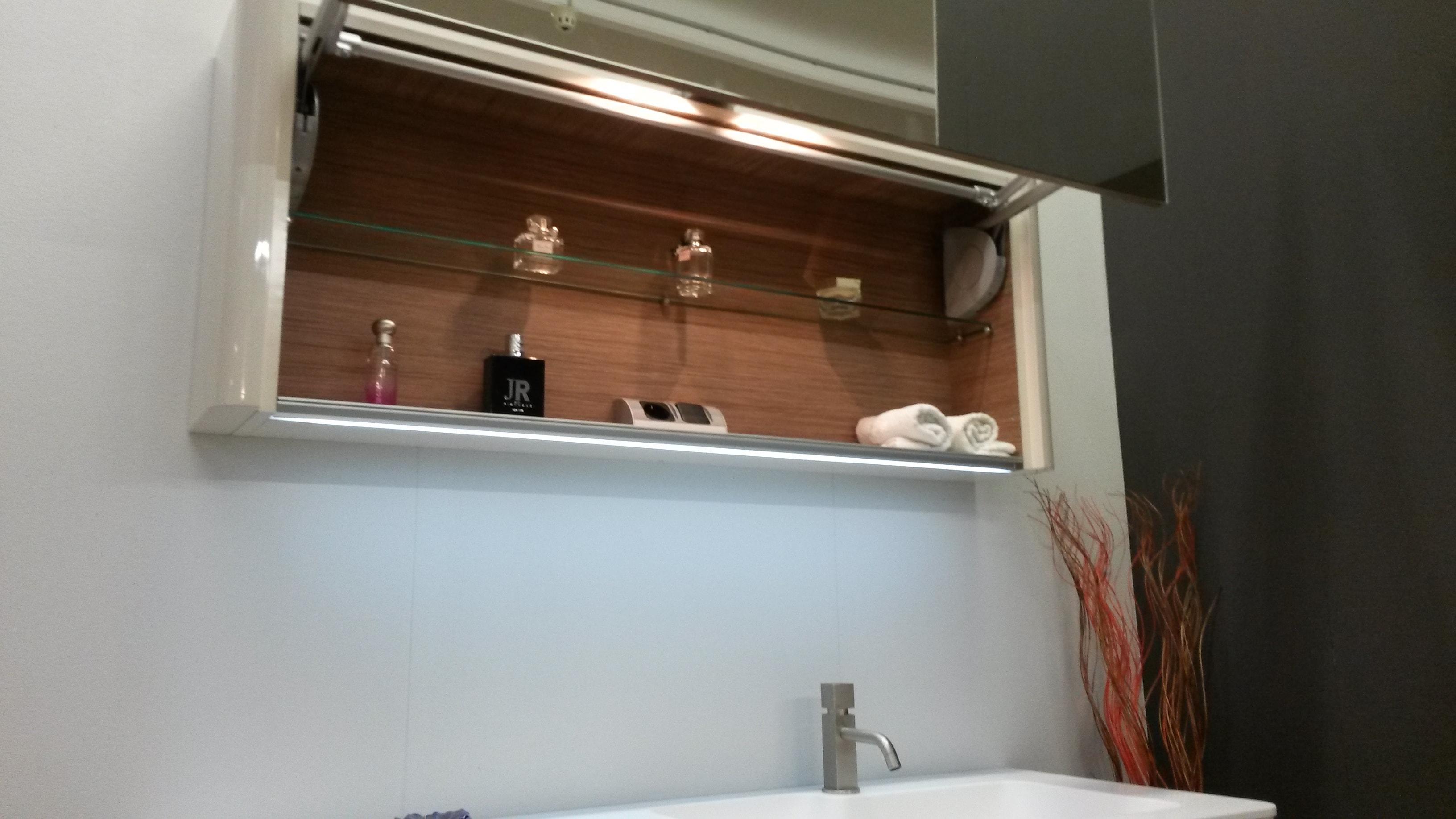 Idea group seventy laccato lucido arredo bagno a prezzi - Specchio romantico riflessi prezzo ...