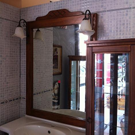 mobiltesino artepovera classico legno - arredo bagno a prezzi scontati - Mobiltesino Arredo Bagno