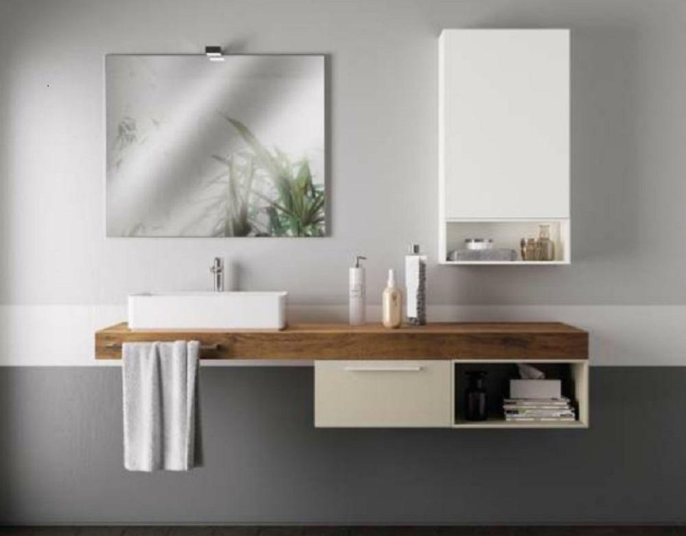 Scavolini bathrooms aquo moderno laccato opaco sospeso arredo bagno a prezzi scontati - Scavolini arredo bagno ...