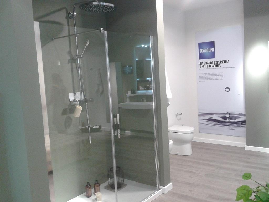 Scavolini bathrooms doccia scavolini 140x90 logic - Arredo bagno marmo ...