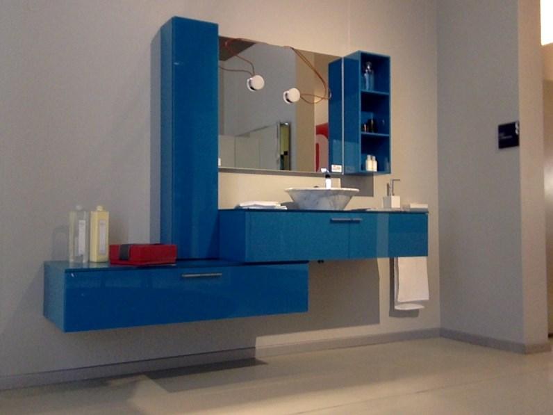 Scavolini bathrooms font moderno vetro sospeso arredo for Arredamenti villa outlet