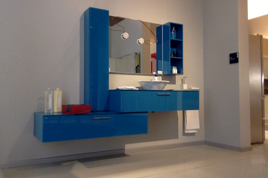 Scavolini bathrooms font moderno vetro sospeso arredo - Scavolini arredo bagno ...
