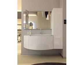 Scavolini Bathrooms Idro Moderno Laccato Lucido bianco assoluto Sospeso