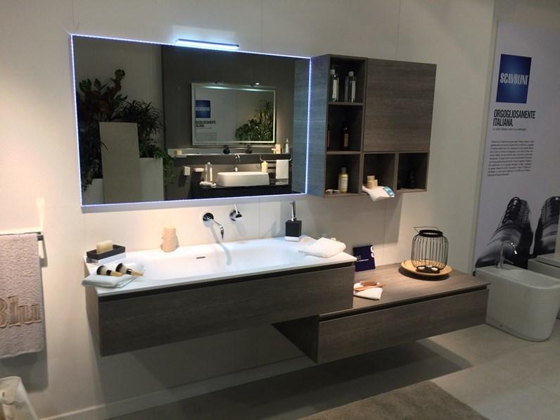 Scavolini bathroom rivo in offerta outlet for Arredo bagno outlet