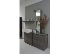 arredo bagno outlet torino mobile bagno consolle con ripiano tutto legno massello