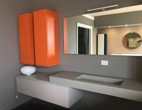 Arredamento bagno: mobile Arbi Bagno arbi arancione grigio a prezzo Outlet