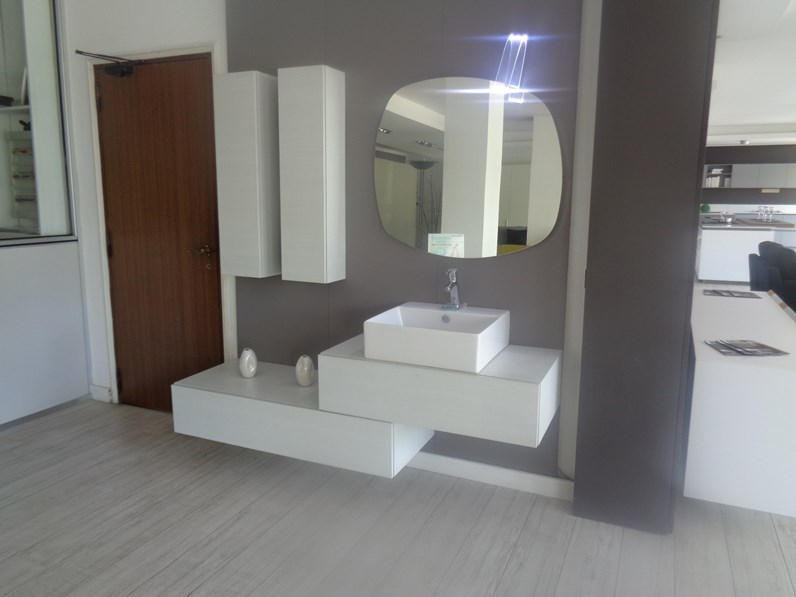 Arredamento bagno mobile ardeco pergamena a prezzo outlet for Arredamento outlet