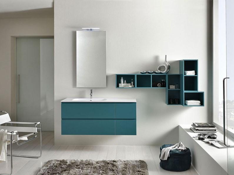 Arredamento bagno mobile artigianale comp line05 in for Arredamento artigianale