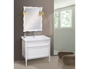 Arredamento bagno: mobile Artigianale Iris 86x51cm in Offerta Outlet