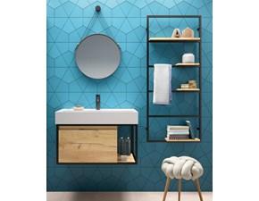 Arredamento bagno: mobile Artigianale Leonardo in Offerta Outlet