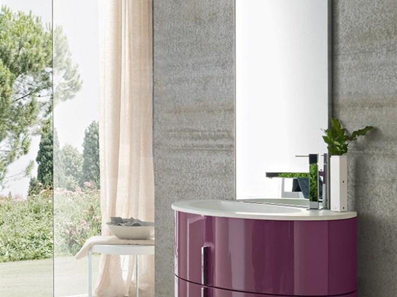 Arredamento bagno mobile artigianale oval a prezzo outlet for Arredamento artigianale