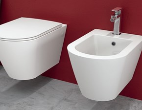 Arredamento bagno: mobile Artigianale Sanitari sospesi resort rimless a prezzi outlet