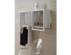 Arredamento bagno: mobile Artigianale Tubes termoarredo scaldasalviette montecarlo bianco a prezzo scontato