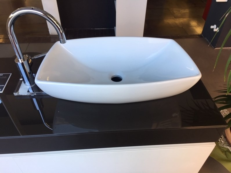 Arredamento bagno: mobile Artigianale Valli & valli lavabo da appoggio umpa  ceramica bianca a prezzo Outlet