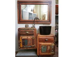 Arredamento bagno: mobile  bagno eco vintage a prezzi outlet