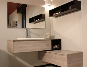 Arredamento bagno: mobile Baxar M2 system in Offerta Outlet