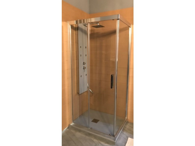 Arredamento bagno mobile blu bleu box doccia in offerta outlet